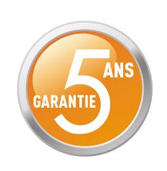 Garantie 5 ans sur appareils