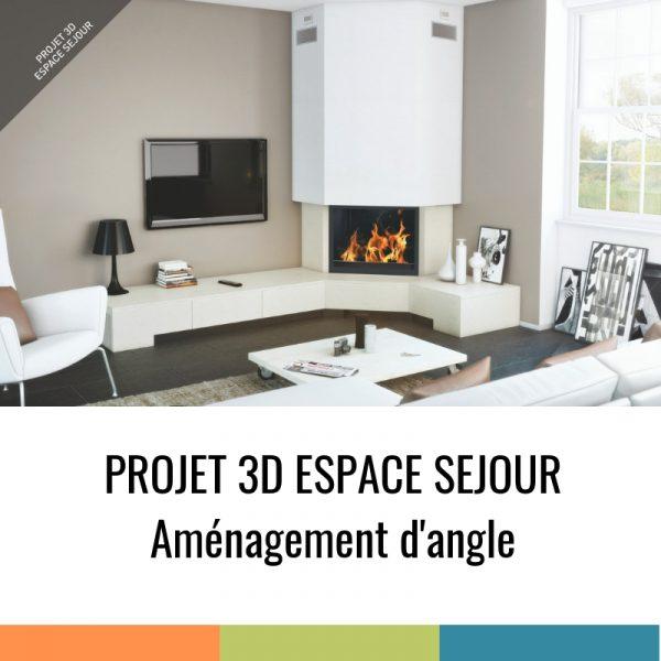 Projet 3D - Aménagement d'angle