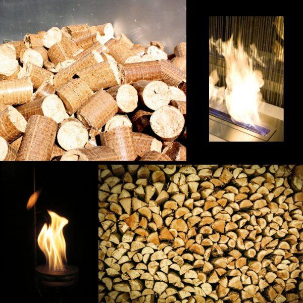 Quel combustible ? Bois, Granulés, Gaz ou Ethanol