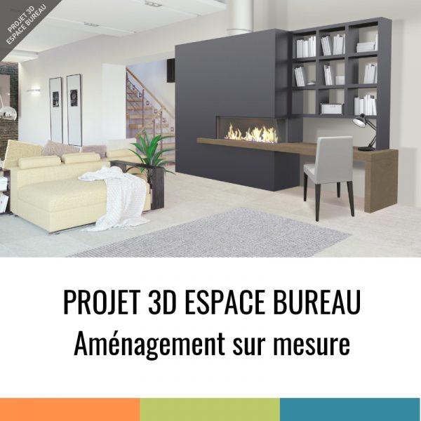 Projet 3D - Espace Bureau