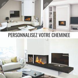 Personnalisez votre cheminée