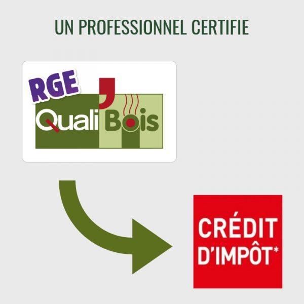 Professionnel certifié Qualibois