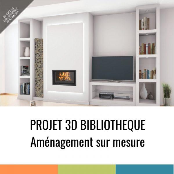 Projet 3D - Bibliothèque Multimédia