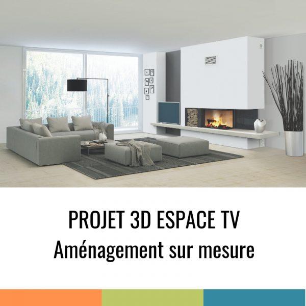 Projet 3D - Espace TV