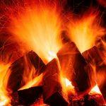 foyer ouvert - flammes