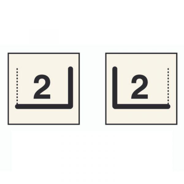 Foyer 2 Faces - Vitre à Droite ou à Gauche
