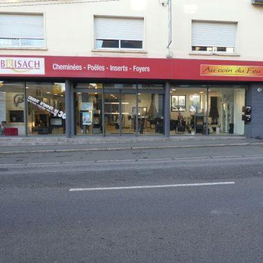 Extérieur magasin Brisach Flers
