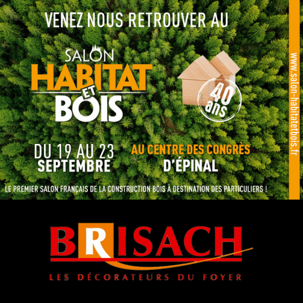 Salon Habitat et Bois Epinal Septembre 2019