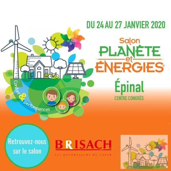 Salon planète et énergies 2020 Epinal