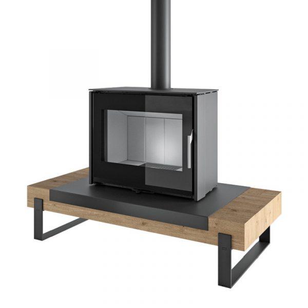 Poêle-Cheminée Wooden Board Litho