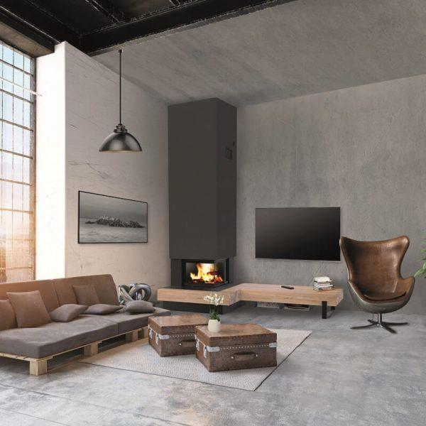Concept Wood - Longboard pour foyer S67-2FL